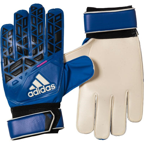 adidas ACE Training Goalkeeper Gloves Blue/Core Black/White/Shock Pink