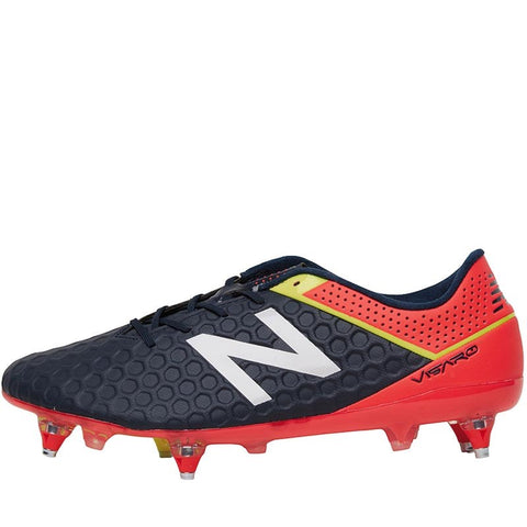 New Balance Mens Visaro Mid Level SG Football Boots Galaxy