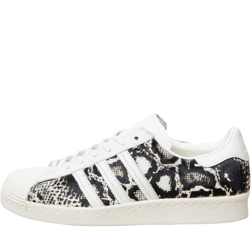 huge discount af154 014b2 adidas Originals Womens Superstar 80s Trainers Off White Core Black Wh –  Vittarro