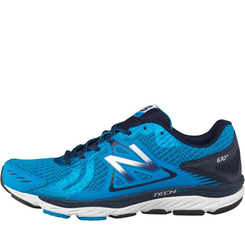 new balance mens m670 v5 stability running shoes green