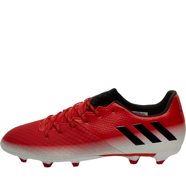 adidas Mens MESSI 16.2 FG Red Limit Pack Football Boots Red/Core Black/White