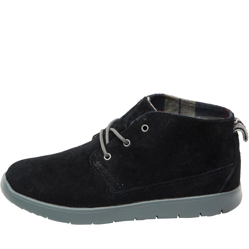UGG Boys Canoe Suede Hi-Top Sneakers Black