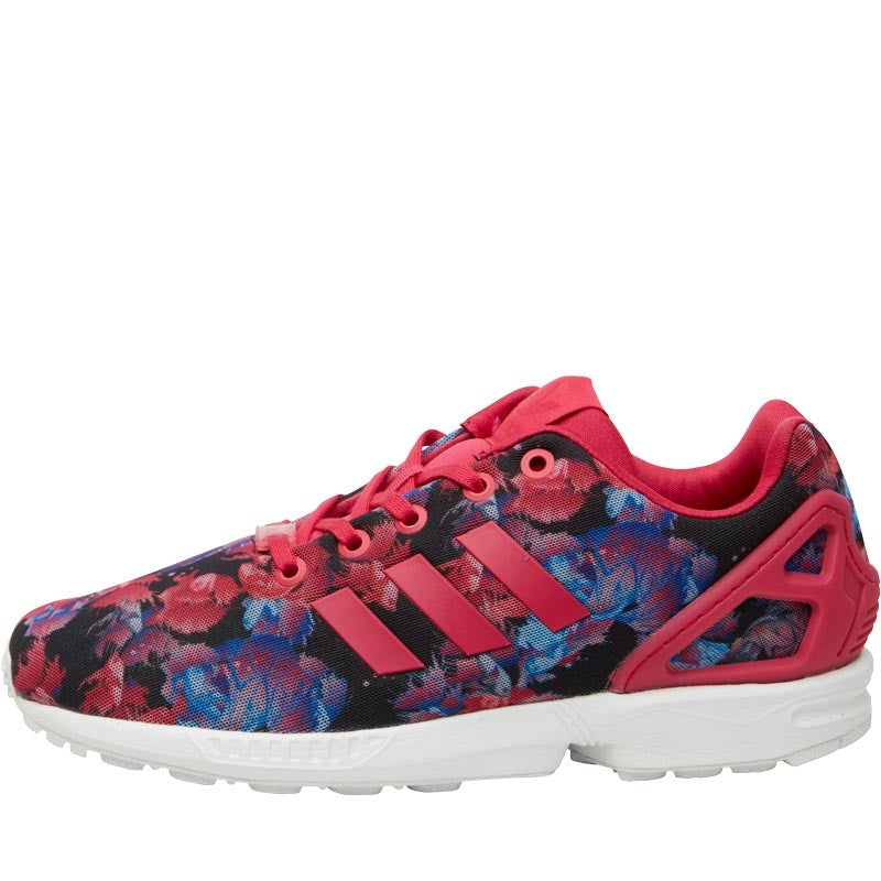 super popular 20631 7c4ea ... ireland adidas originals zx flux trainers bold pink bold pink white  20165 bca57