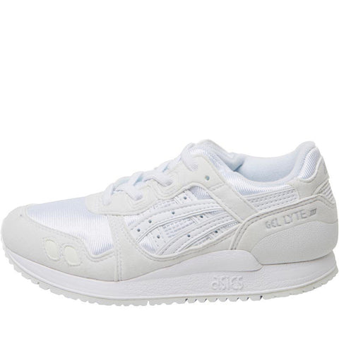 Asics Tiger Junior Gel Lyte III PS Trainers White/White