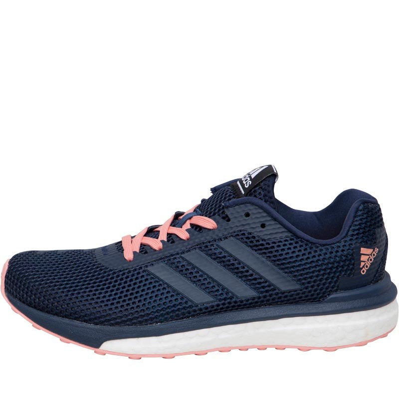 brand new 16916 e994f ... new arrivals adidas womens vengeful boost stability running shoes  collegiate navy collegiate navy still breeze ad360