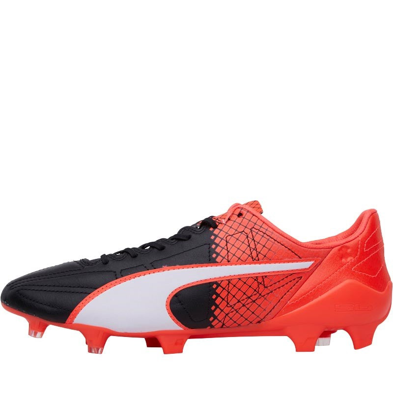 New Products Puma Evospeed Sl Synthetic Ii FG Football Boots Mens Black/White/Red Online Shopping