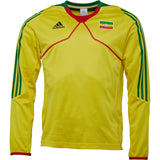adidas Mens Ethiopia Long Sleeve Training Top Sunshine/Fairway