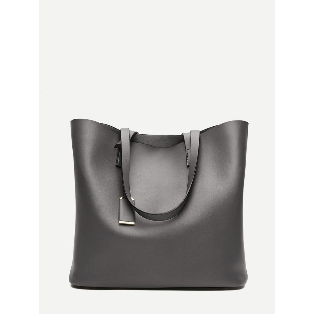 Tote Bag With Inner Pouch - www.maboutiquefashion.com