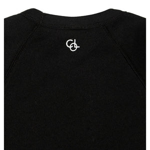 The Night Bay Raglan Sweater in Black - www.maboutiquefashion.com