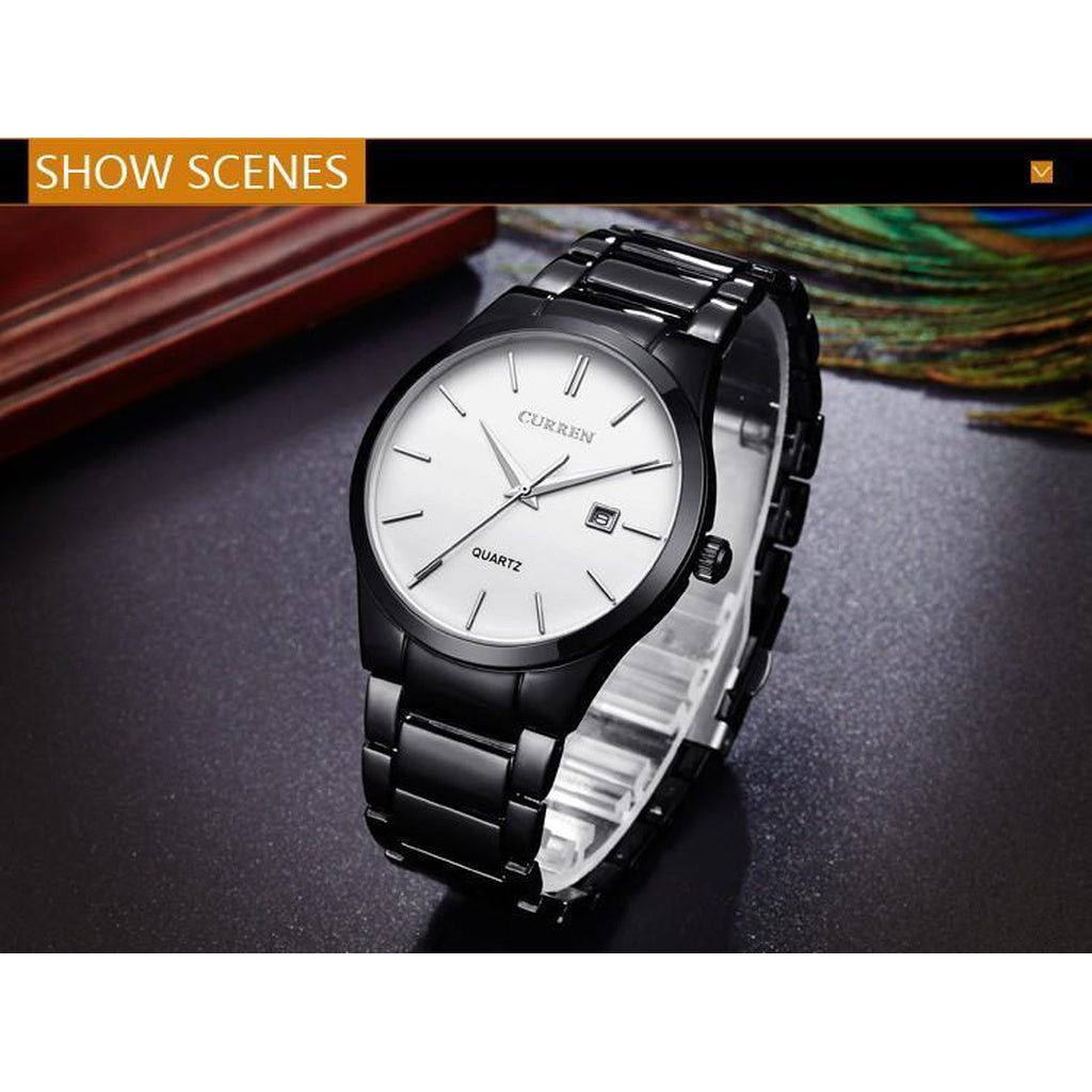 Luxury  Analog Business Wristwatch - www.maboutiquefashion.com