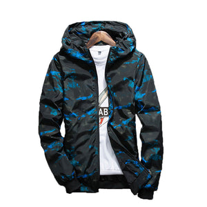 NaranjaSabor Spring Autumn Mens Casual Camouflage Hoodie Jacket Men Waterproof Clothes Men's Windbreaker Coat Male Outwear 4XL - www.maboutiquefashion.com