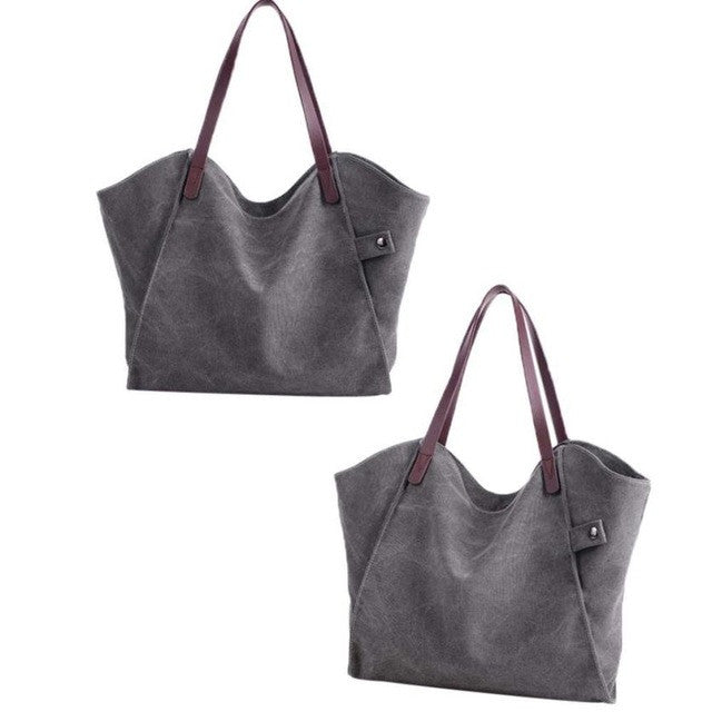 bags for women canvas bag women handbag - www.maboutiquefashion.com