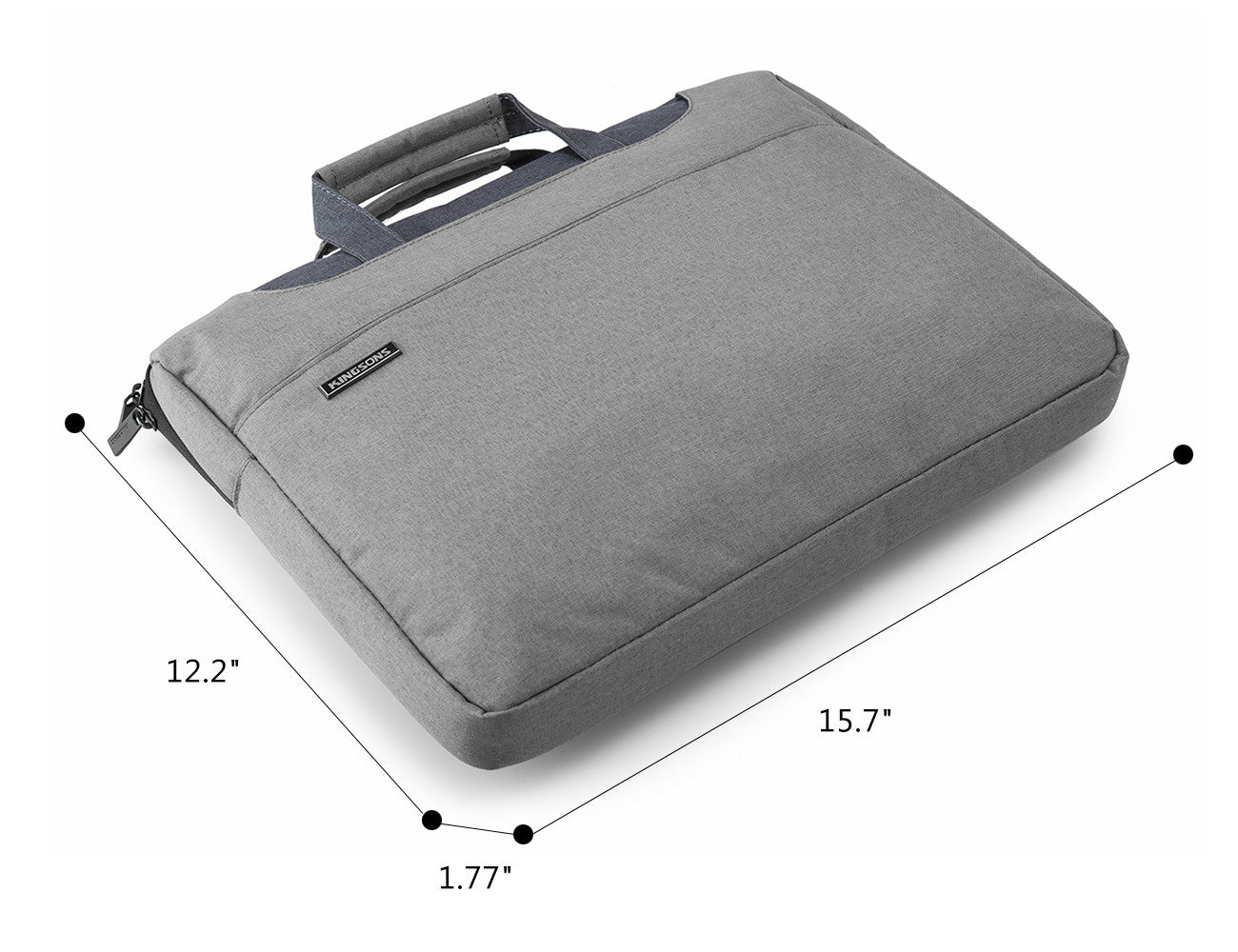 BAGSMART 15.6 Inch Multi-functional Laptop Bag Sleeve Case Cover Briefcase - www.maboutiquefashion.com