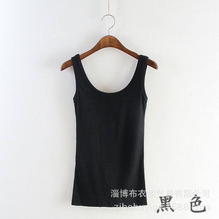 Women's U Neck Workout Tank Top Stretchy Sleeveless Vest Blouse for Exercise Training Yoga - www.maboutiquefashion.com