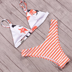 NAKIAEOI Sexy Brazilian Bikinis Women Swimsuit 2018 Padded Beach Wear Halter Bikini Set Push Up Swimwear Bathing Suit Swimming - www.maboutiquefashion.com