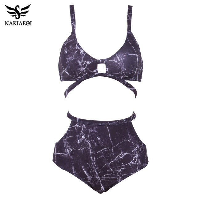 High Waist Swimsuit Women