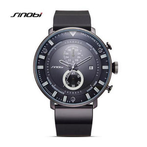 Ultra-thin waterproof chronograph men's watch SINOBI - www.maboutiquefashion.com