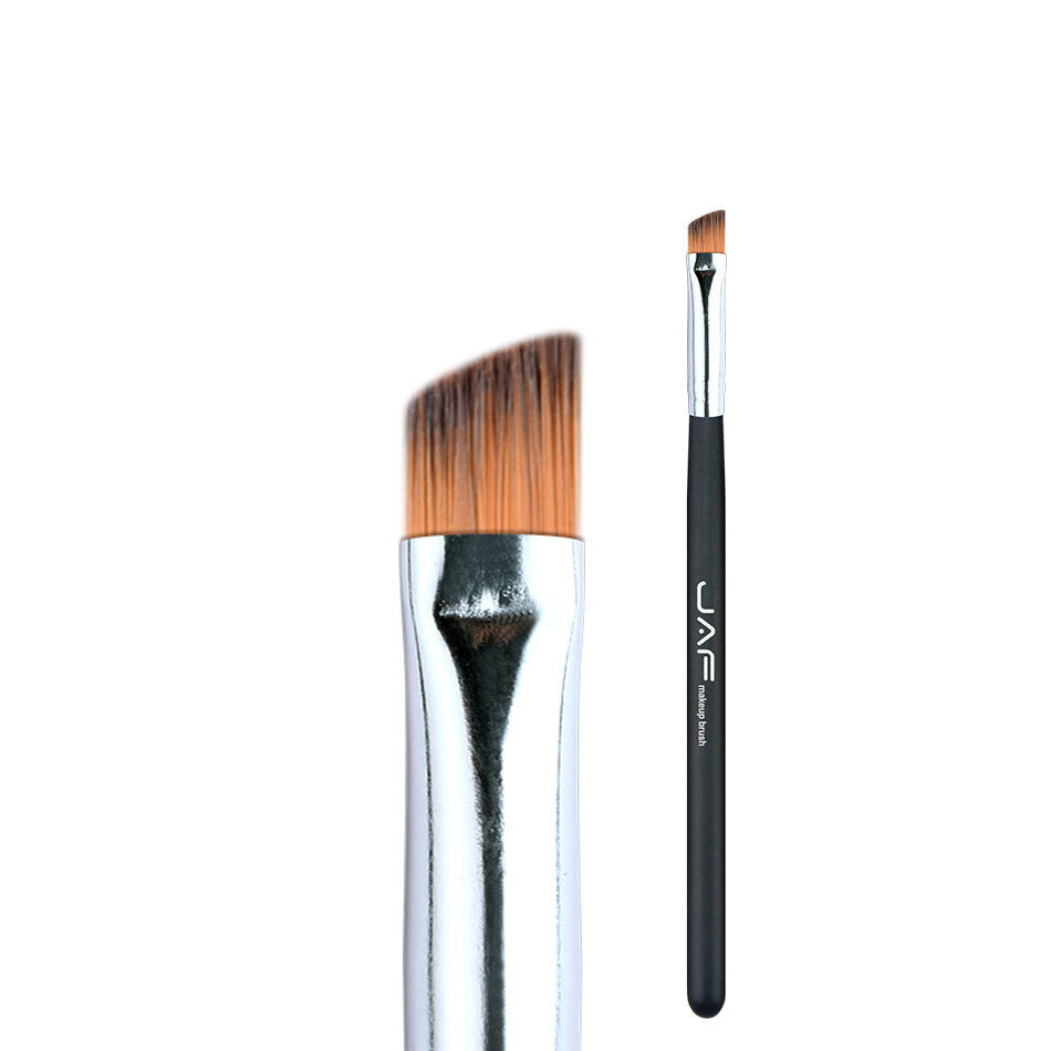 JAF Angled Eyebrow Brush Synthetic Taklon Hair Gel Eyeliner Brush Brand Make Up Eye Liner Brush Bevel Brush for Eye Brow 04SBYA - www.maboutiquefashion.com