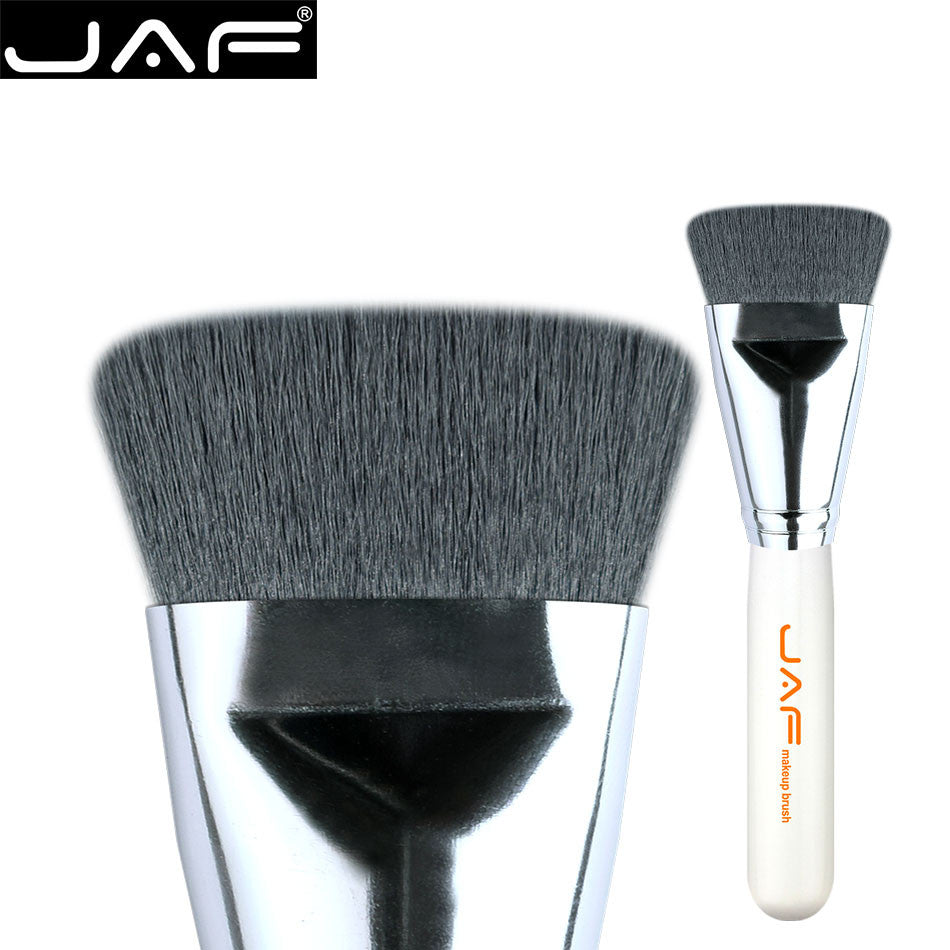 JAF Synthetic Flat Kabuki Brush Foundation Face Blending Brushes Makeup Contour Brush Highlighter Brush Free Ship 18SKYE - www.maboutiquefashion.com