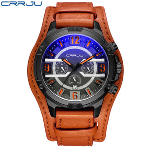 Chronograph Men's Watches Top Brand Luxury Men's Sports Watch Military Waterproof Fashion Casual Quartz Watch - www.maboutiquefashion.com
