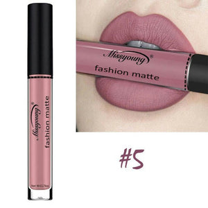 Lip Matte Lipstick Waterproof Brand Makeup Liquid Lipstick Gloss Beauty Labial Batom Matte Maquiagem - www.maboutiquefashion.com