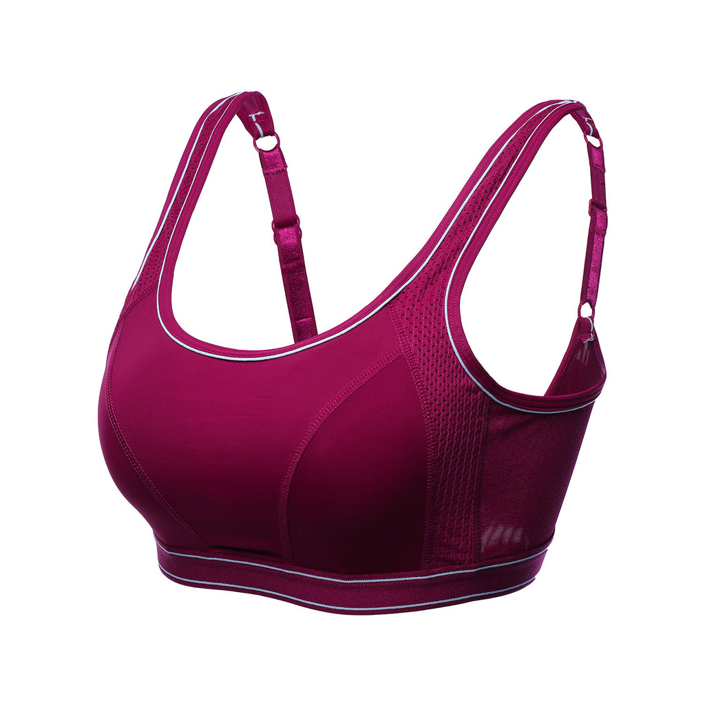 Compression Medium Support Sports Bra - www.maboutiquefashion.com