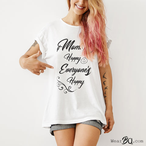 Happy Mama T Shirt