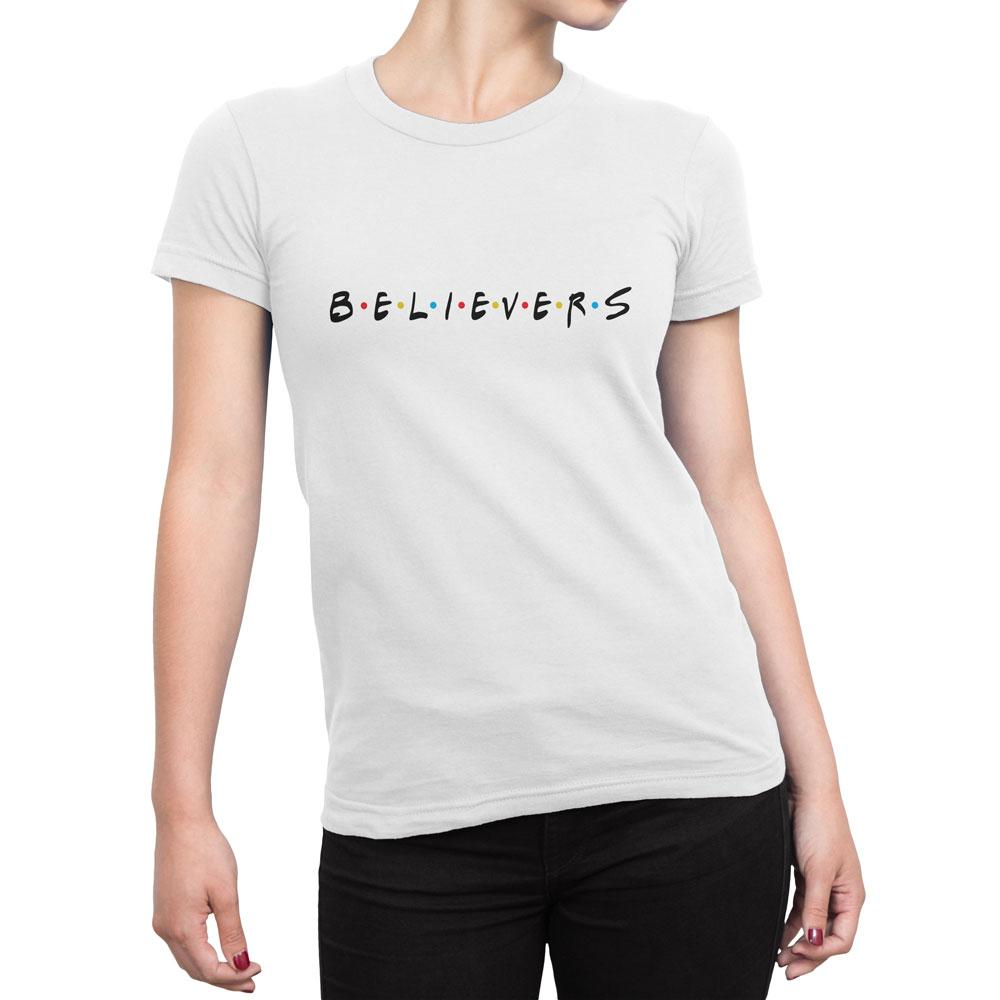Believers - Women's Faith T Shirt-WearBU.com