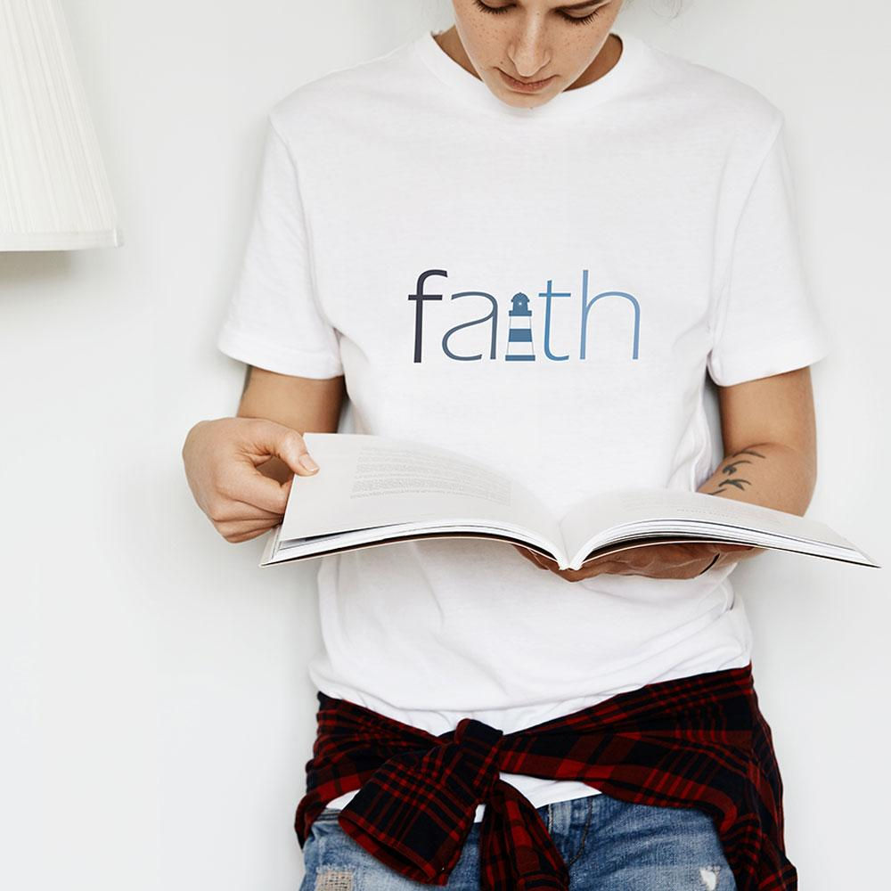 FAITH - Women's Faith T Shirt-WearBU.com