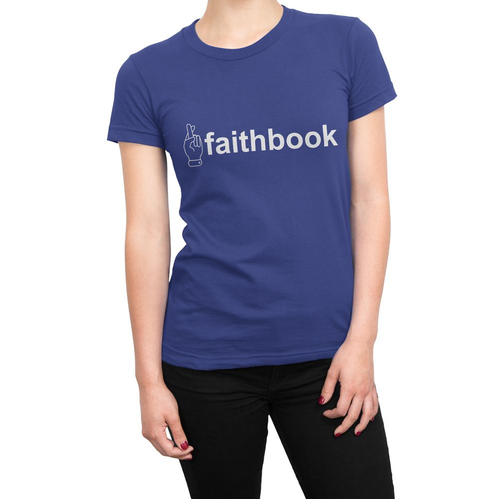 FAITHBOOK - Women's Faith T Shirt-WearBU.com