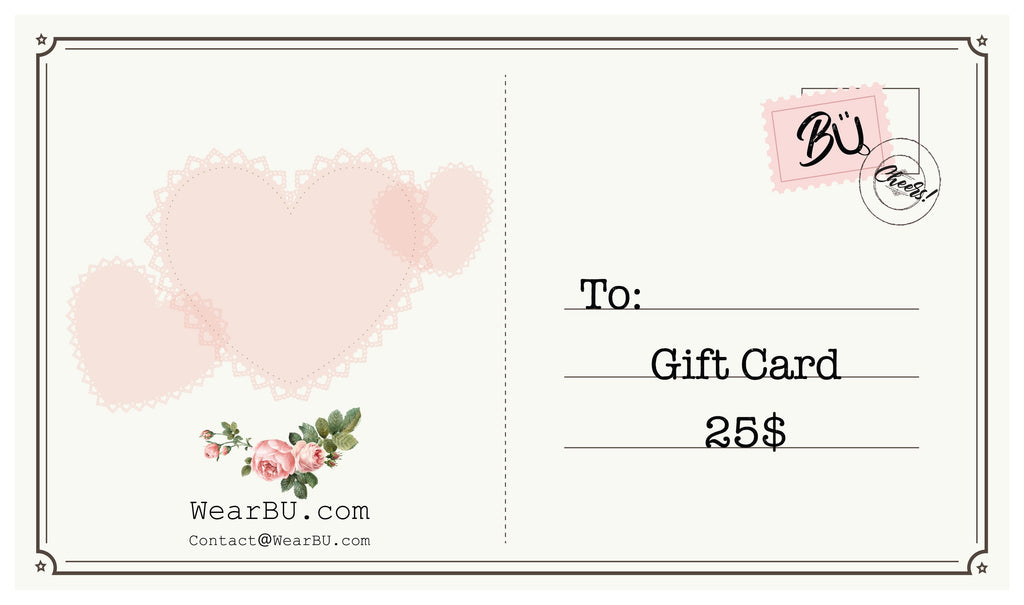 Gift Card-WearBU.com