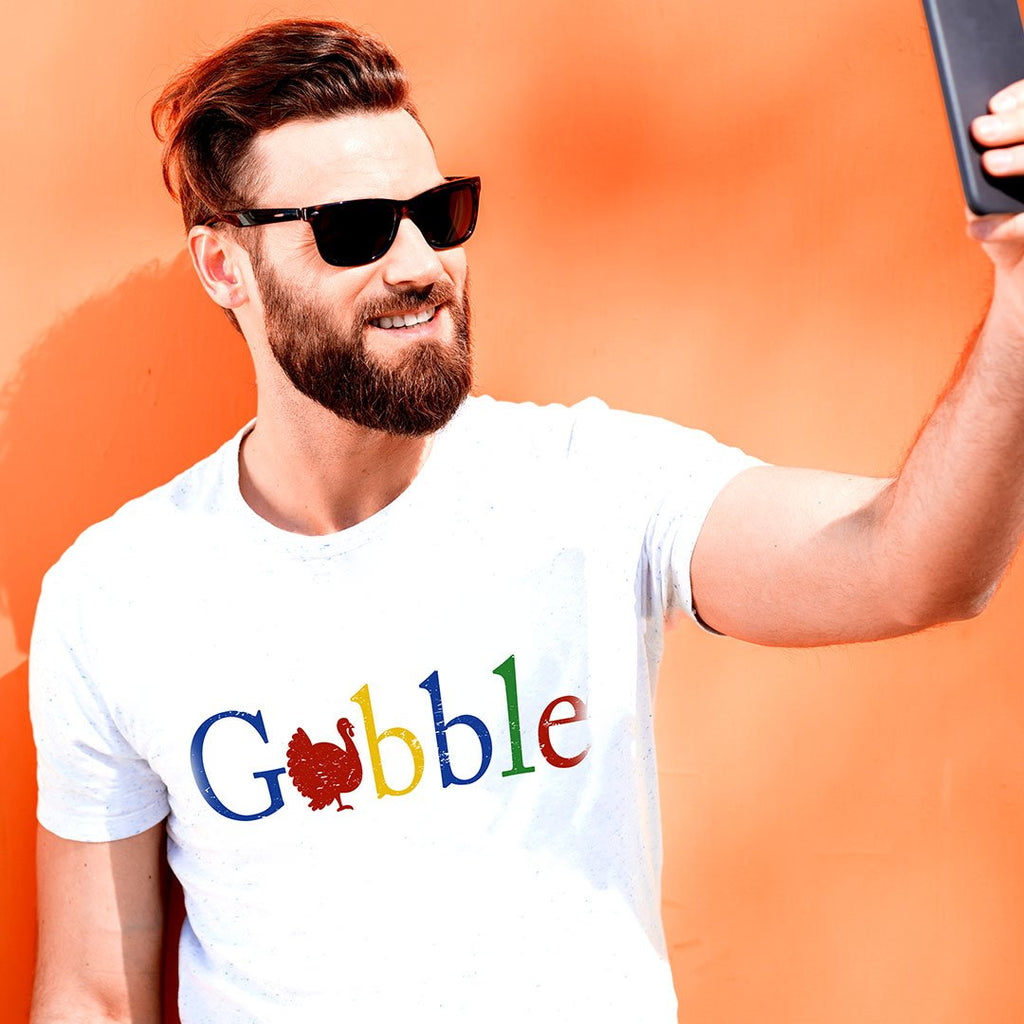 Gobble Gobble - Unisex Thanksgiving T Shirt-WearBU.com
