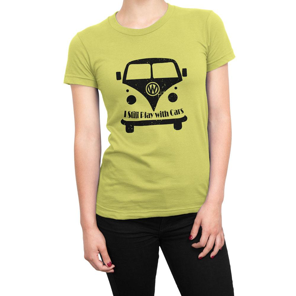 I STILL PLAY WITH CARS - Women's Cars T Shirt-WearBU.com