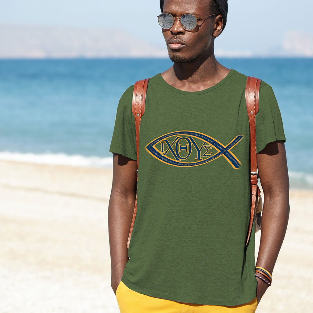 Loaves and Fishes - Unisex Faith T Shirt-WearBU.com