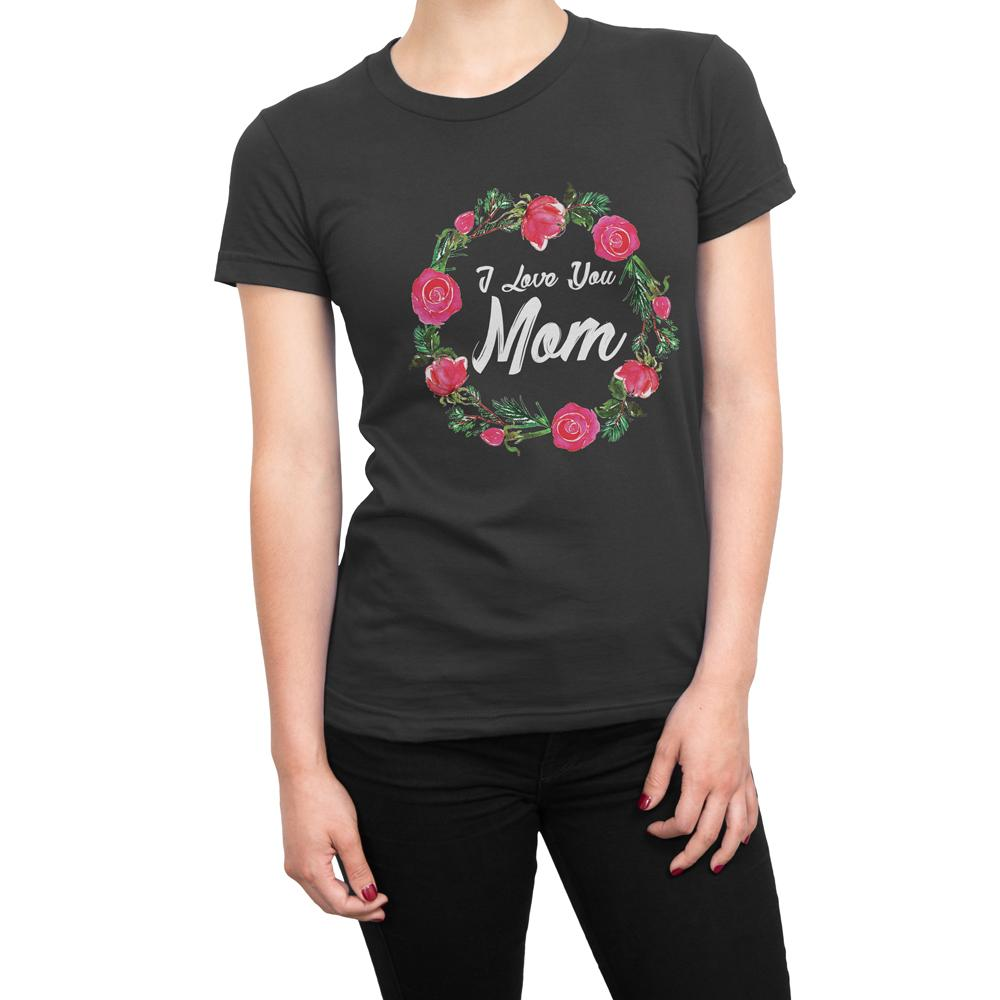 LOVE YOU MOM - Women's Mother day T Shirt-WearBU.com