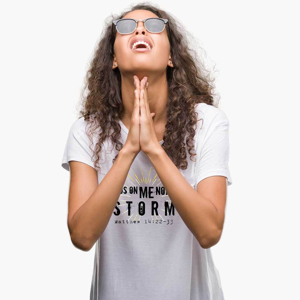 Matthew's Storm - Women's Faith T Shirt-WearBU.com