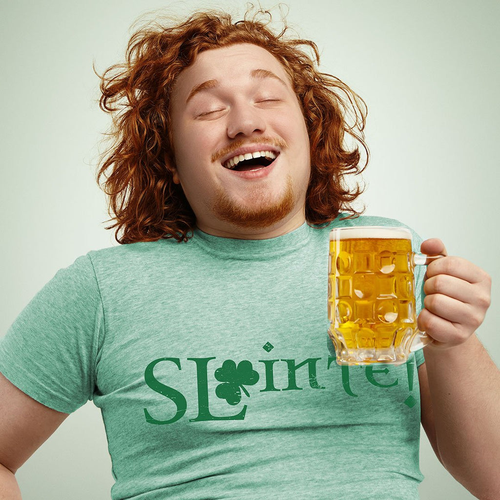 Sláinte! - Unisex Irish Holiday T Shirt-WearBU.com