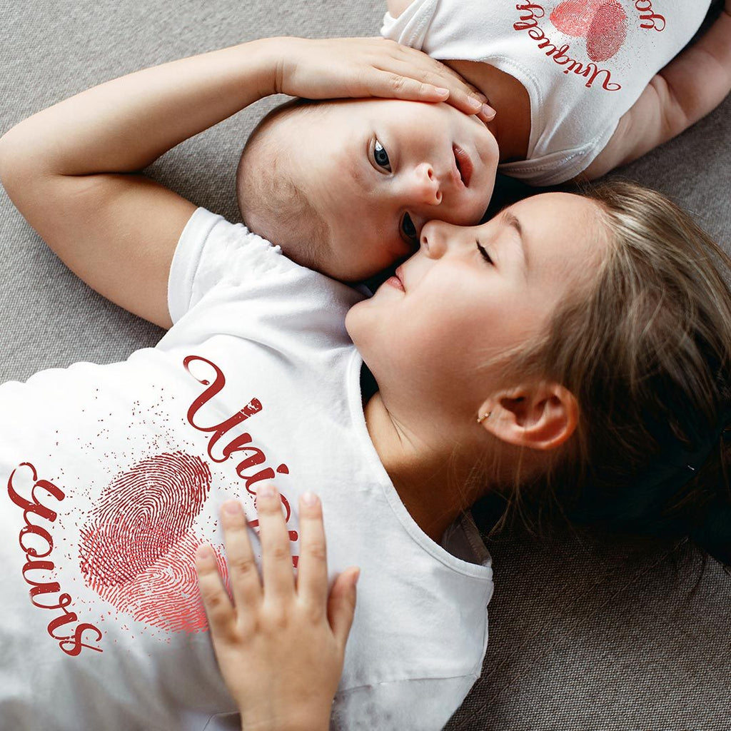 Uniquely Yours - Kids Relationship T Shirt-WearBU.com