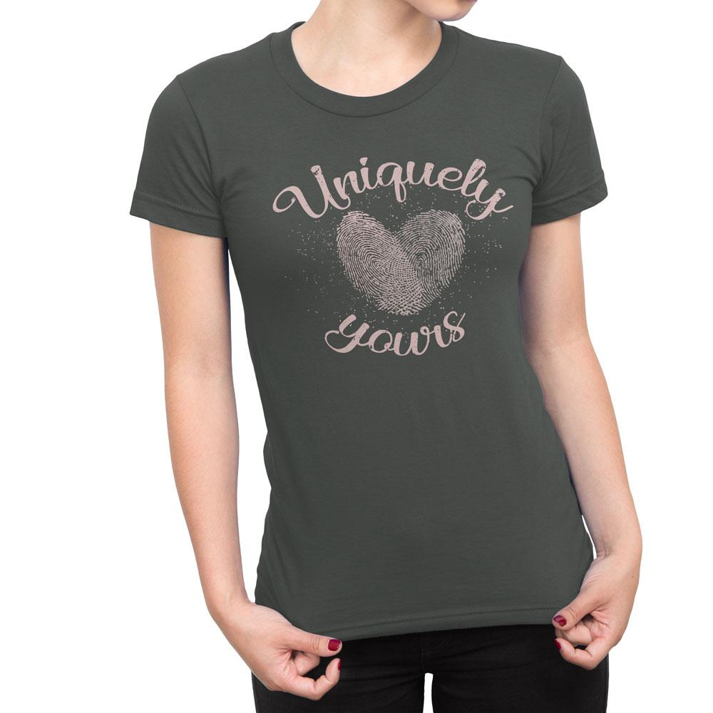 Uniquely Yours - Women's Relationship T Shirt-WearBU.com