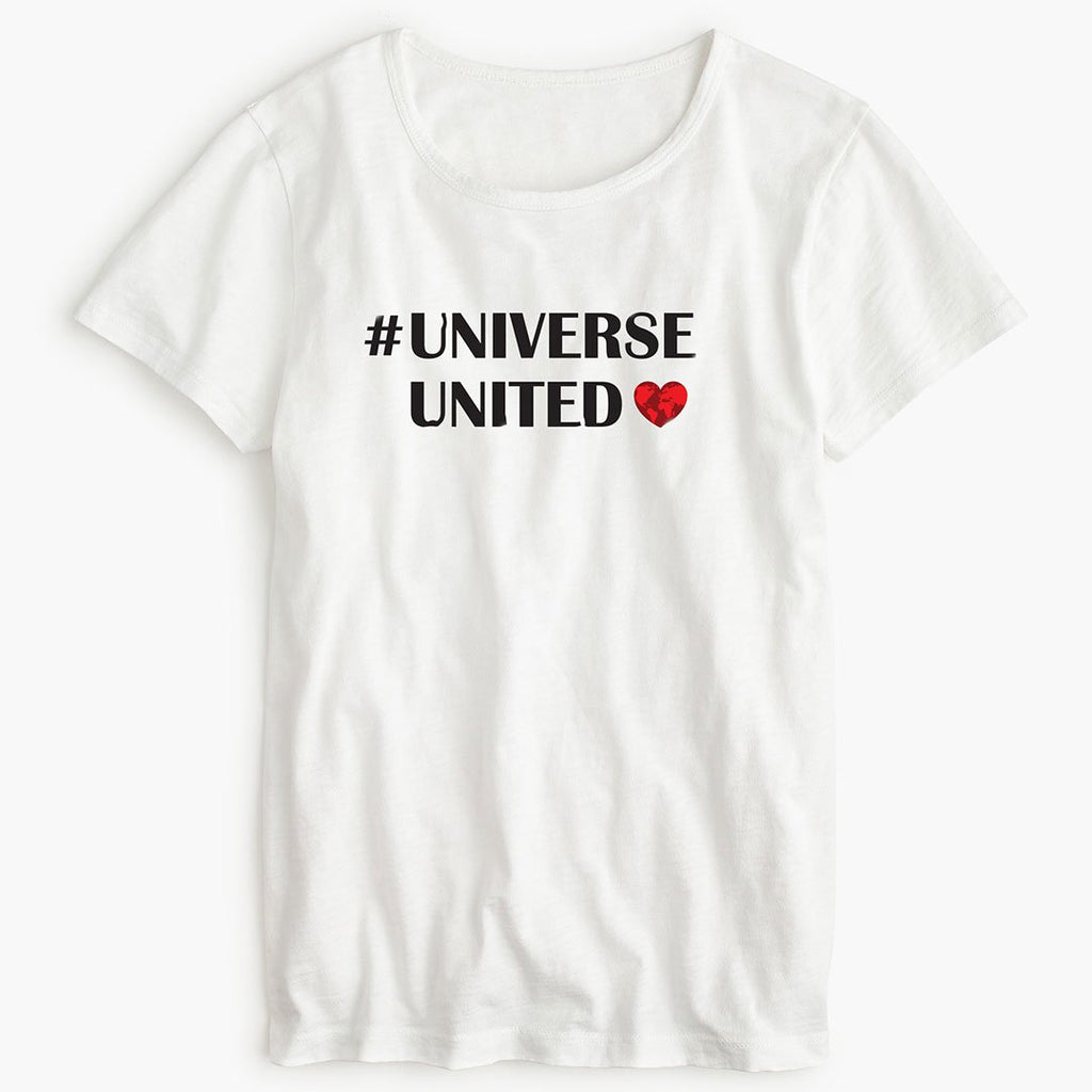 #UniverseUnited - Women's Inspirational T Shirt-WearBU.com