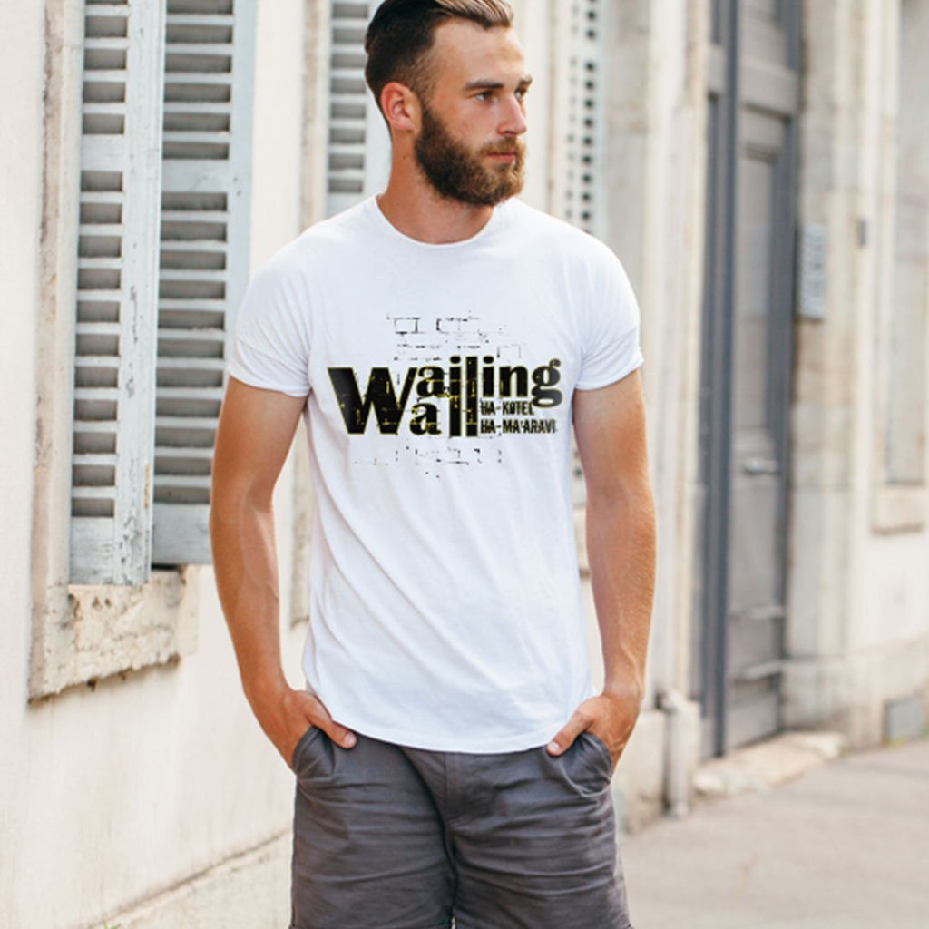 Wailing Wall - Unisex Faith T Shirt-WearBU.com