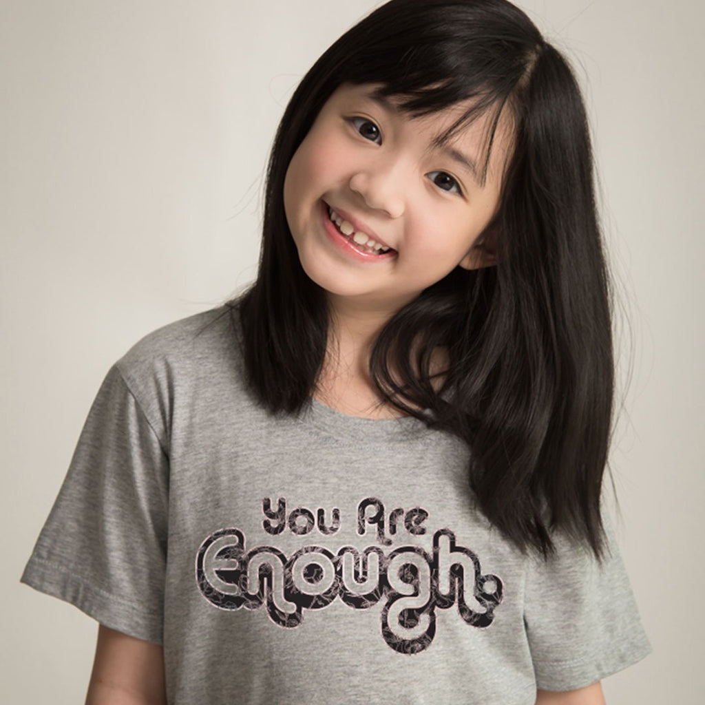 You Are Enough - Kids Inspirational T Shirt-WearBU.com