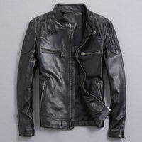 David Beckham Men's Genuine Leather Jacket