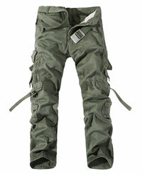 Men's Casual Army Green Cargo Pants