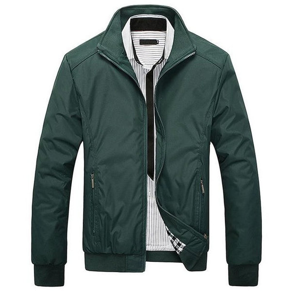 New Men's Casual Slim Jacket