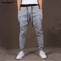 Men's Pantalones Hombre Unique Pocket Harem Pants