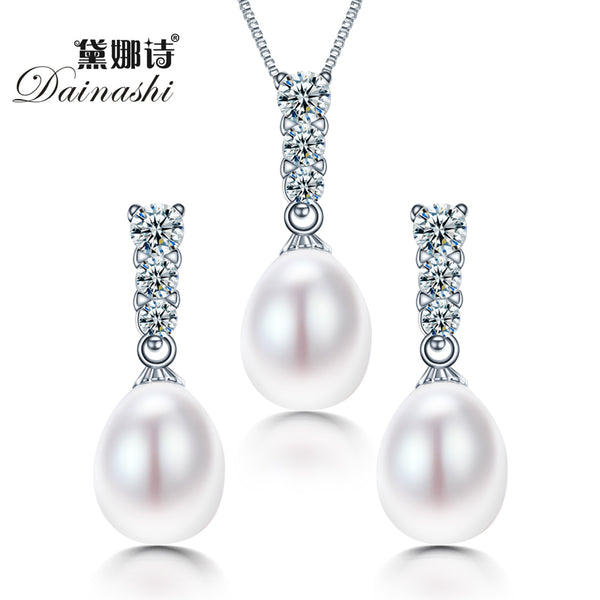 Dainashi Bridal Women Pearl Jewelry Set