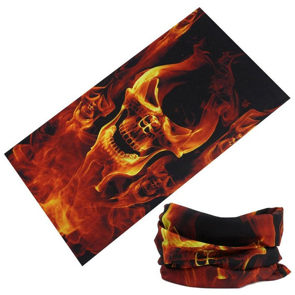 Men/women Microfiber Headwear Mask Scarf