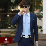 Men's Blazers Slim Fit Classic Wedding Suit