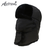 AETRENDS Men/Women Winter Fur Bomber Hats